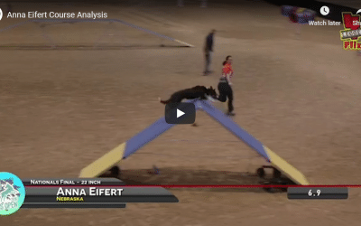 Course analysis of the UKI US Open National Championship Final by the winner Anna Eifert